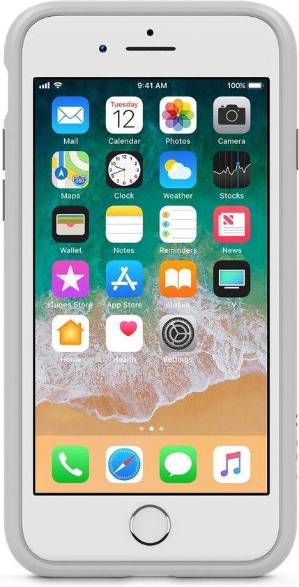 Belkin iPhone 7 en 8 hoesje - SheerForce Elite - Zilver - Belkin