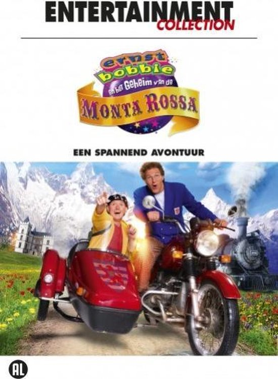 Cover van de film 'Ernst, Bobbie En Het Geheim Van De Monta Rossa'