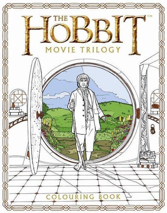 Boek cover The Hobbit Movie Trilogy Colouring Book van Warner Bros. Entertainment (Paperback)