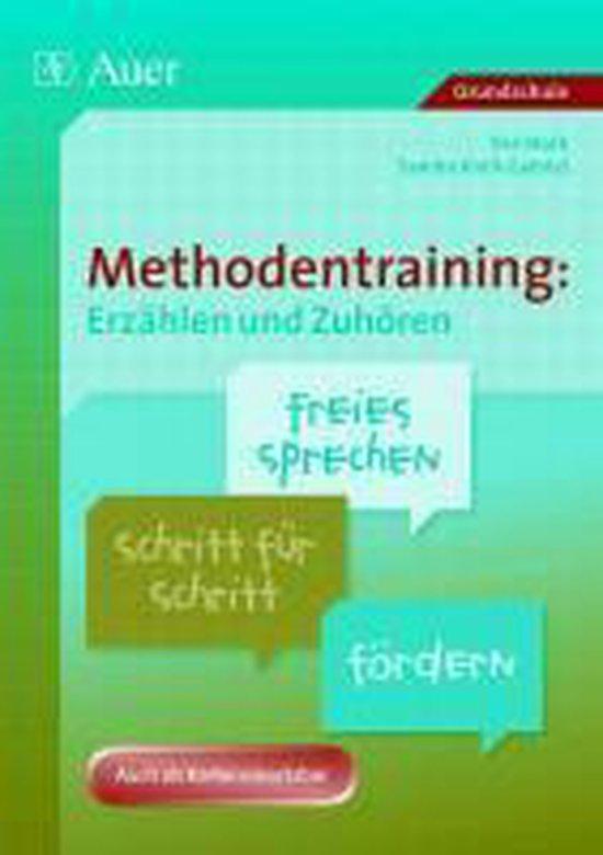 Boek cover Methodentraining: Erzählen und Zuhören van Ilse Stork (Paperback)