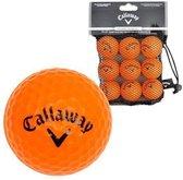 Callaway Soft flight 9 pack CA1000012 Golfbal Unisex Oranje
