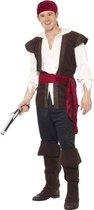 Compleet piratenpak | Piraat kostuum maat M (48-50)