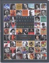 Boek cover Geschiedenis van Nederland 1940 - 1945 van David Barnouw