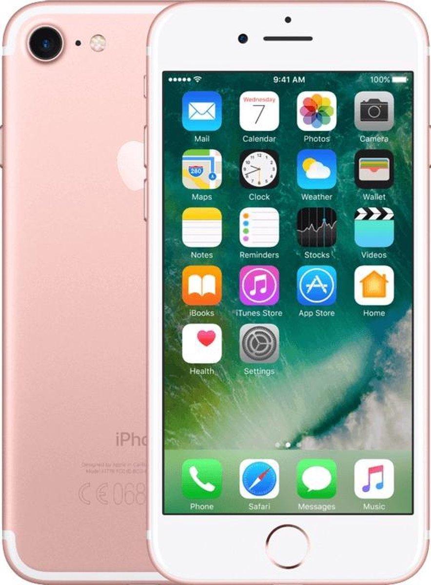 Apple iPhone 7 - Refurbished door Forza - B grade (Lichte gebruikssporen) - 32GB - Rosegoud