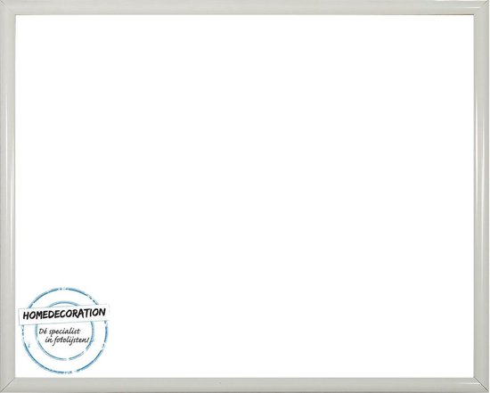 Homedecoration Biggy – Fotolijst – Fotomaat – 56 x 79 cm – Kunststof – wit