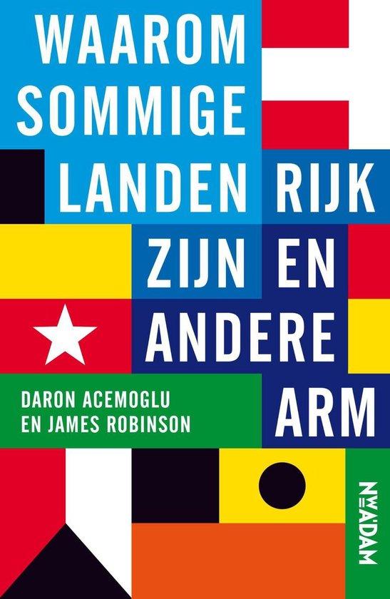 Boek cover Waarom sommige landen rijk zijn en andere arm van Daron Acemoglu (Onbekend)