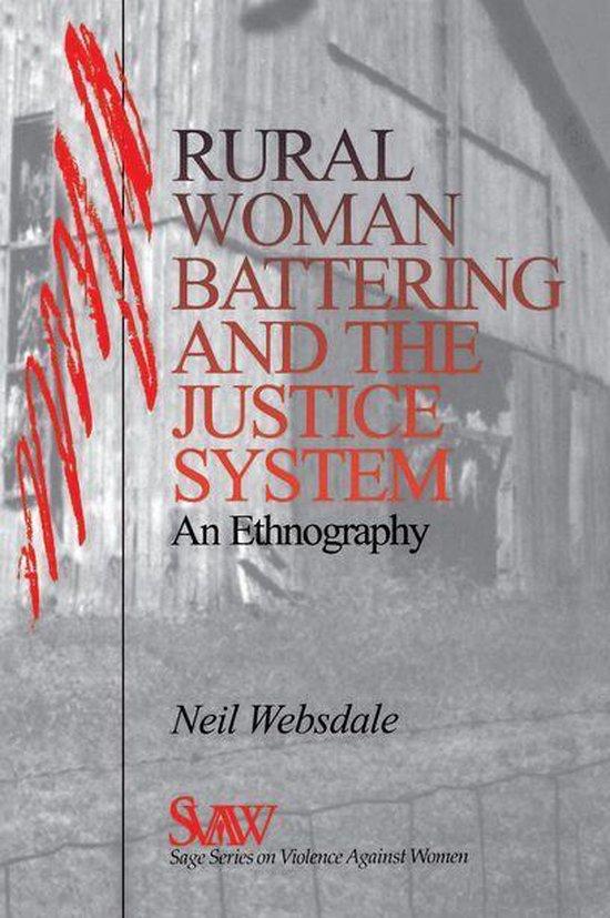 Omslag van Rural Women Battering and the Justice System