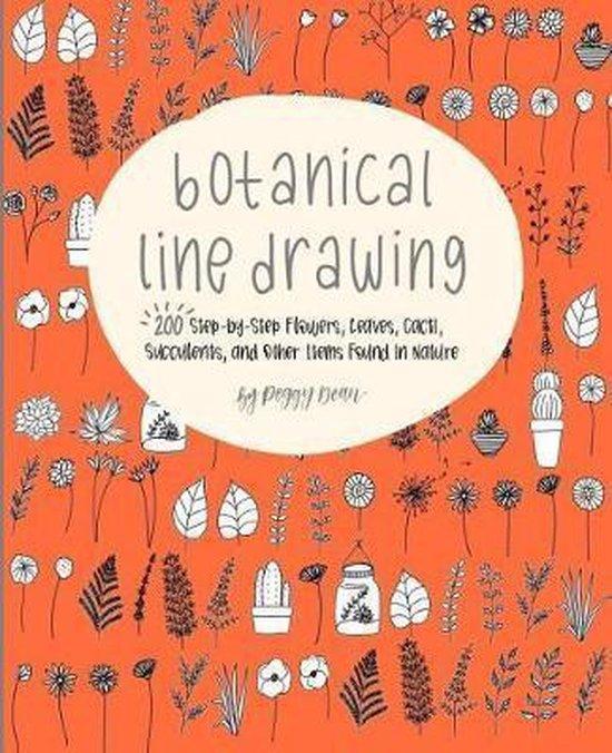 Boek cover Botanical Line Drawing van Peggy Dean (Paperback)
