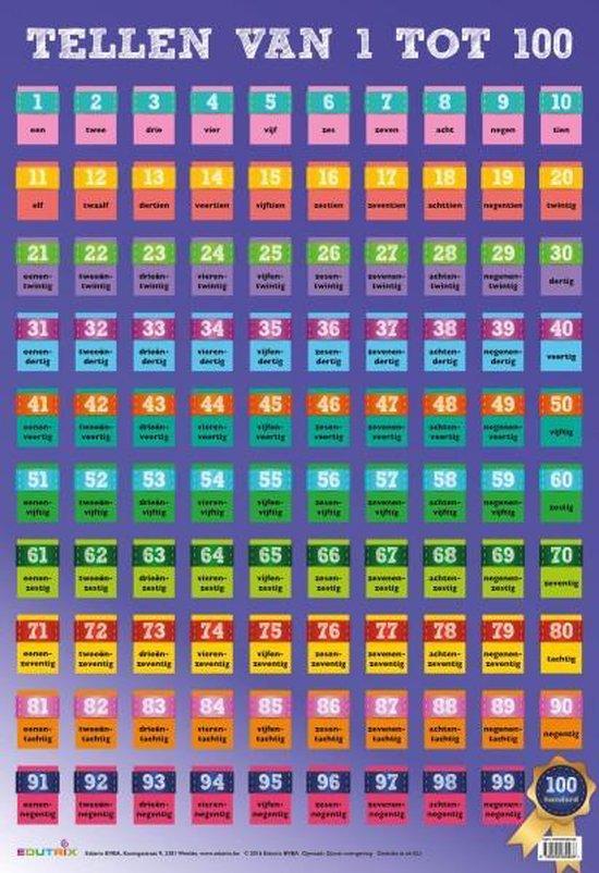 Tellen van 1-100 - Edutrix  
