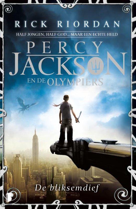 Boek cover Percy Jackson en de Olympiërs - De bliksemdief van Rick Riordan (Paperback)