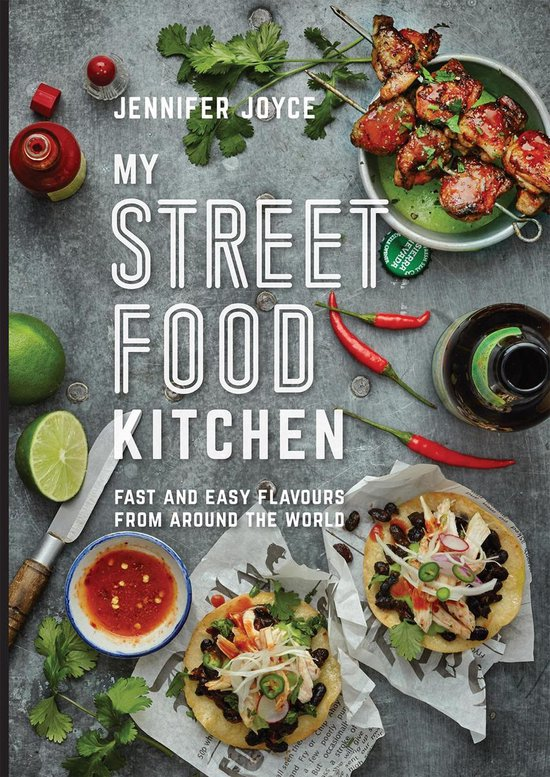 Boek cover My Street Food Kitchen van Jennifer Joyce (Onbekend)
