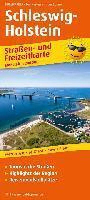 Schleswig-Holstein. Straßen- und Freizeitkarte 1 : 200 000