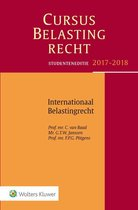 Cursus Belastingrecht - Internationaal Belastingrecht Studenteneditie 2017-2018