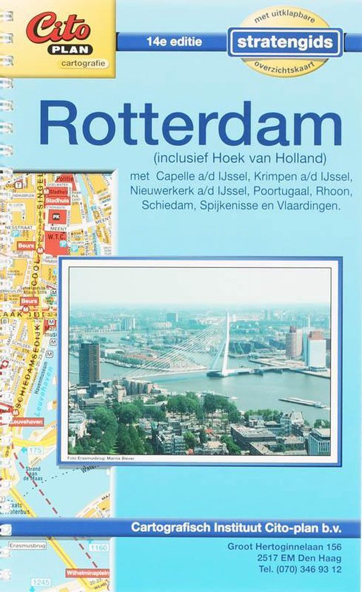 Citoplan Stratengids Rotterdam - Onbekend |