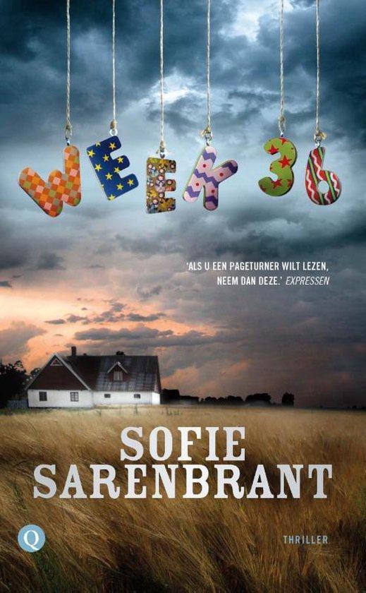 Boek cover Week 36 van Sofie Sarenbrant (Paperback)