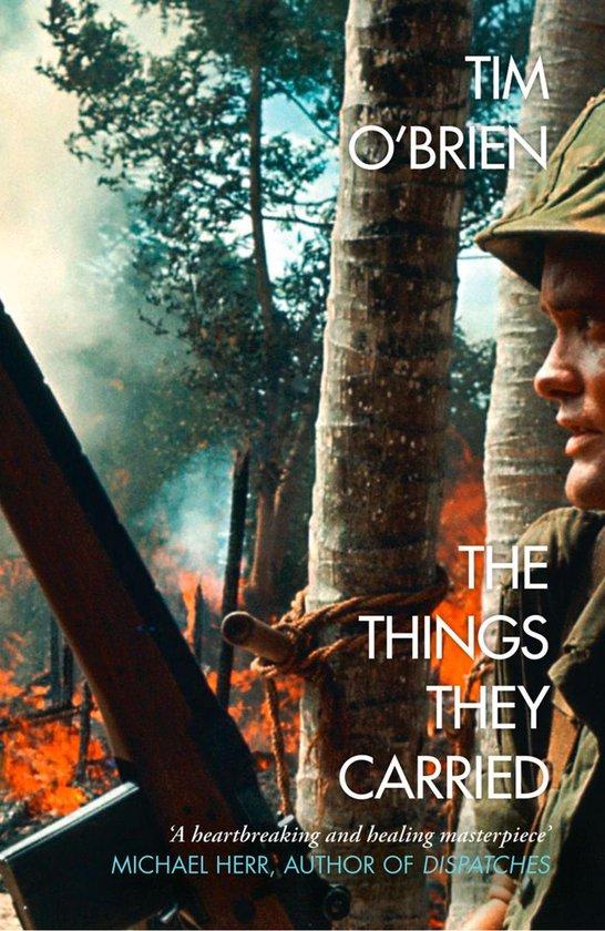 Boek cover The Things They Carried van Tim OBrien (Onbekend)