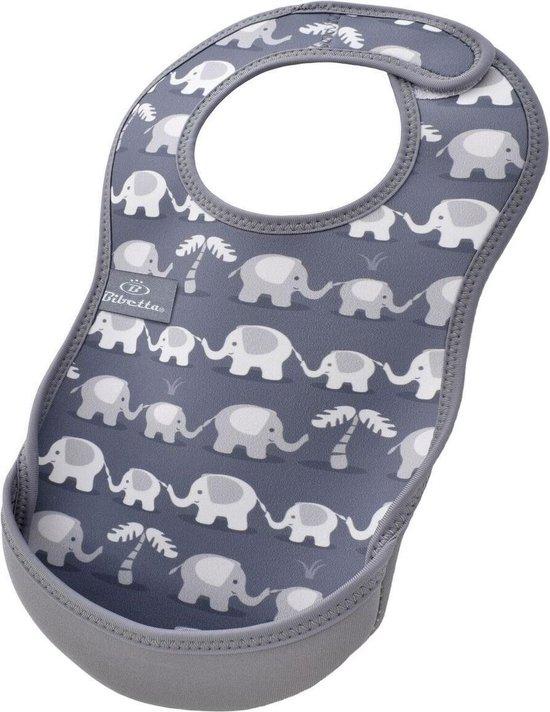 Bibetta slab olifant grijs