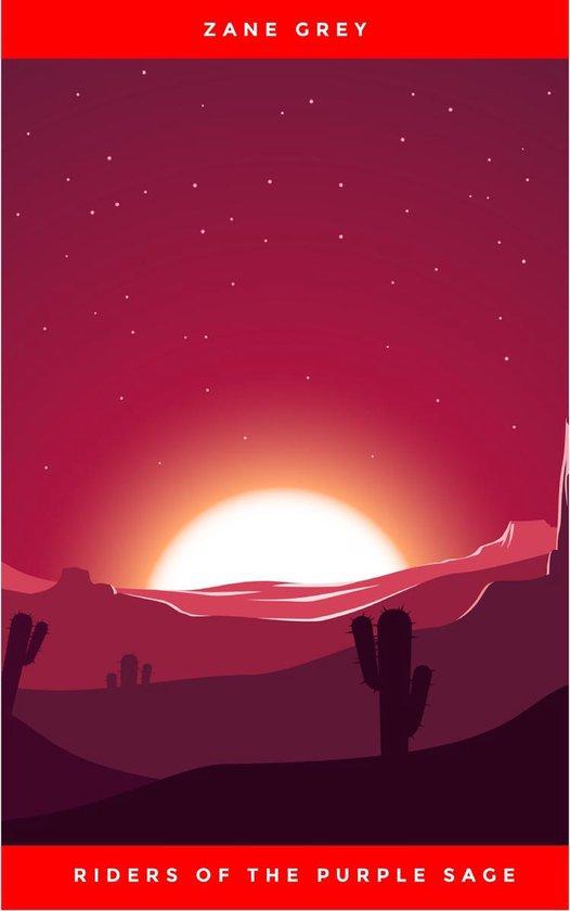 Boek cover Riders of the Purple Sage van Zane Grey (Onbekend)
