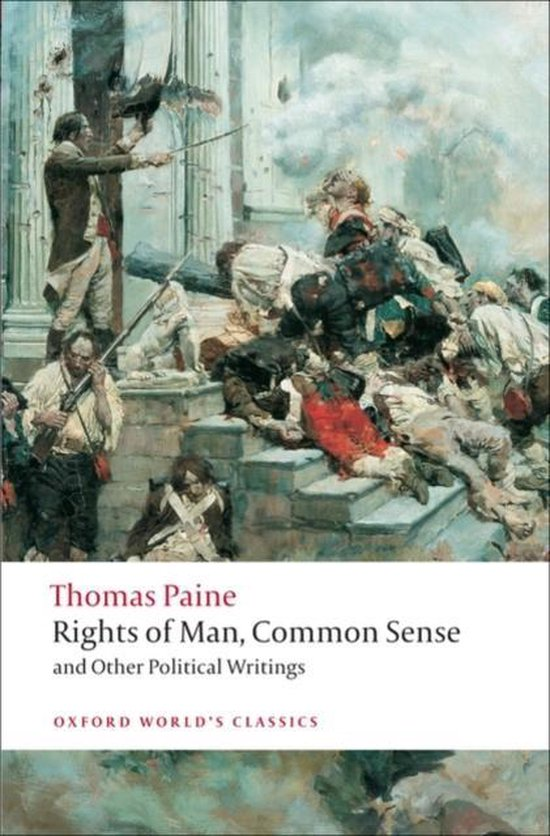 Boek cover Rights of Man, Common Sense, and Other Political Writings van Thomas Paine (Paperback)