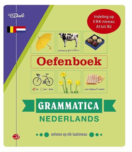 Boek cover Van Dale Oefenboek Grammatica Nederlands van Robertha Huitema (Paperback)