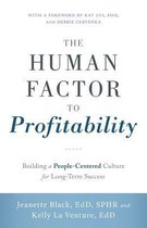 The Human Factor to Profitability