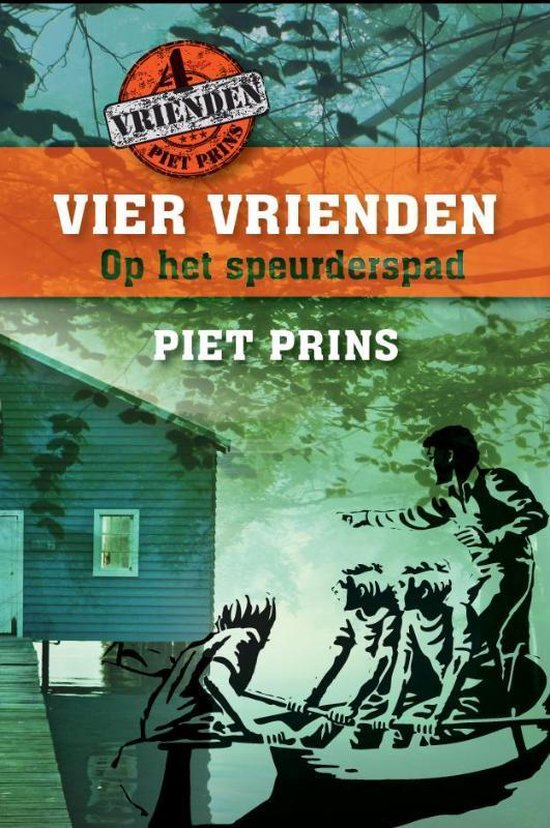 Vier vrienden op het speurderspad - Piet Prins pdf epub