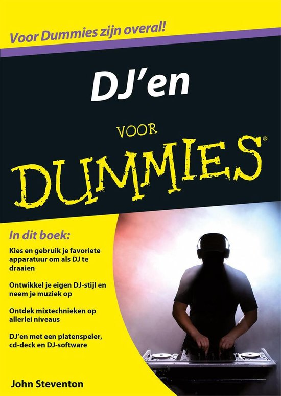 Voor Dummies - DJ'en voor Dummies - John Steventon | Readingchampions.org.uk