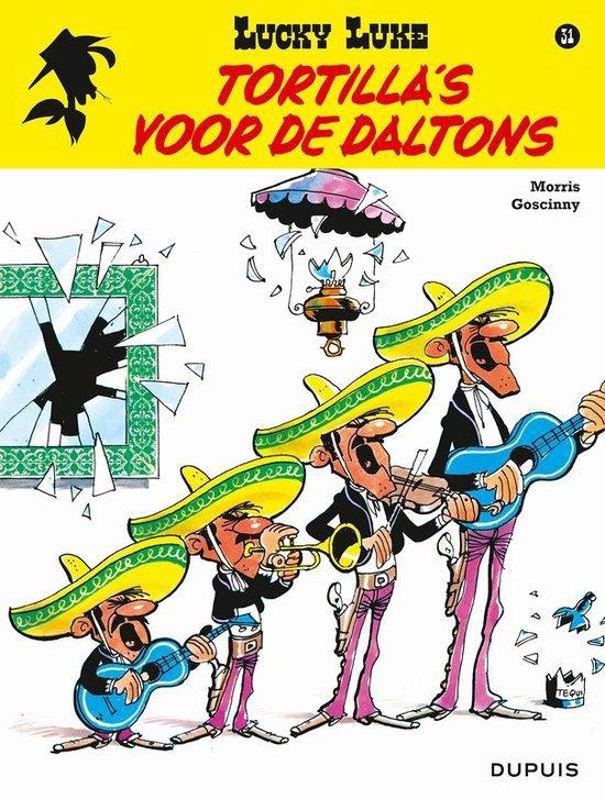 Boek cover Lucky luke 31. tortillas voor de daltons van Morris