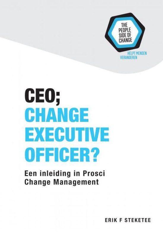 CEO; Change Executive Officer? - Erik F. Steketee |