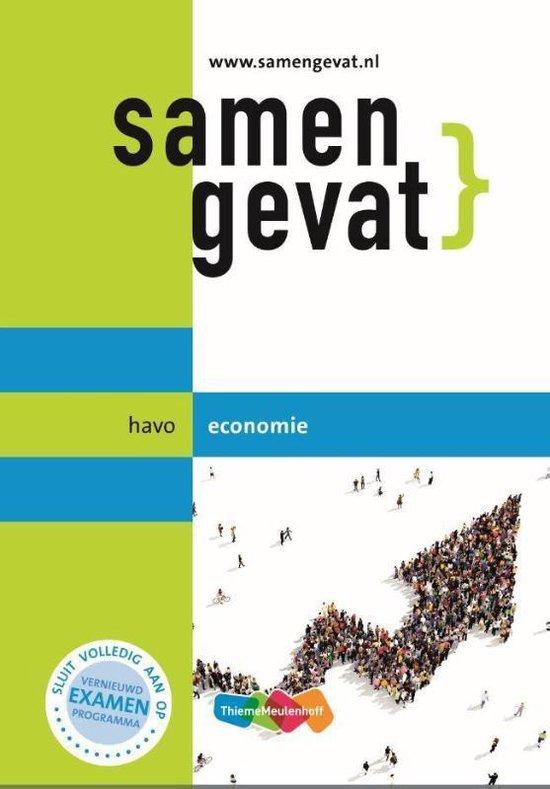 Samengevat havo Economie 6e druk - J.P.M. Blaas |