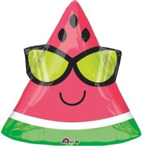 Folieballon fun watermelon JuniorShape