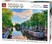 Afbeelding van Puzzel 1000 Stukjes PRINSENGRACHT CANAL, AMSTERDAM, NETHERLANDS