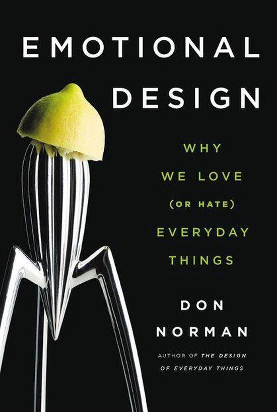 Boek cover Emotional Design van Don Norman (Onbekend)