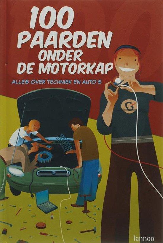 Cover van het boek '100 paarden onder de motorkap' van de Moor