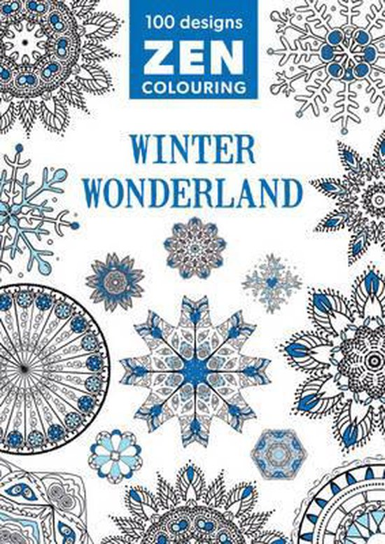 Zen Colouring - Winter Wonderland
