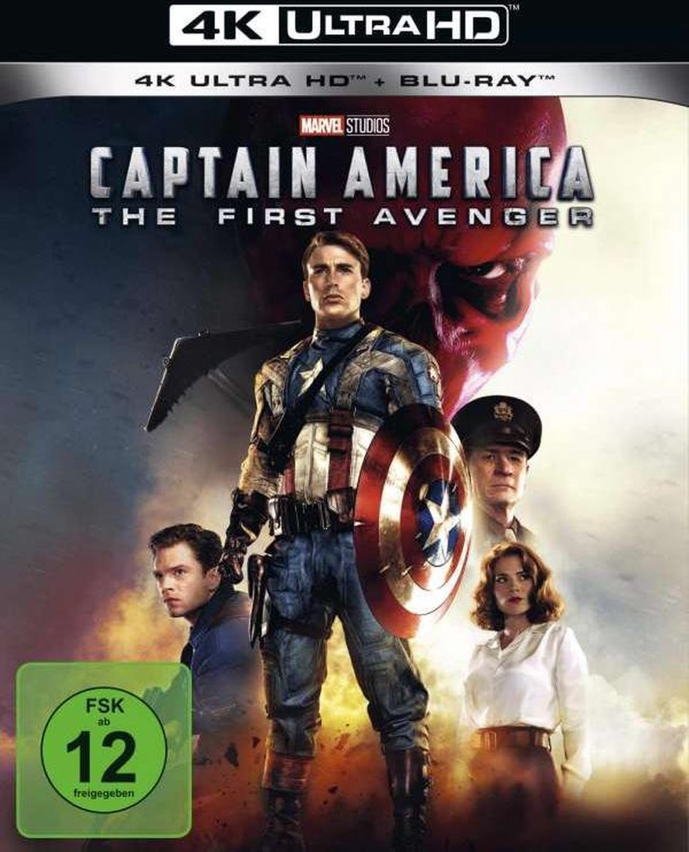 Captain America (Ultra HD Blu-ray & Blu-ray)-