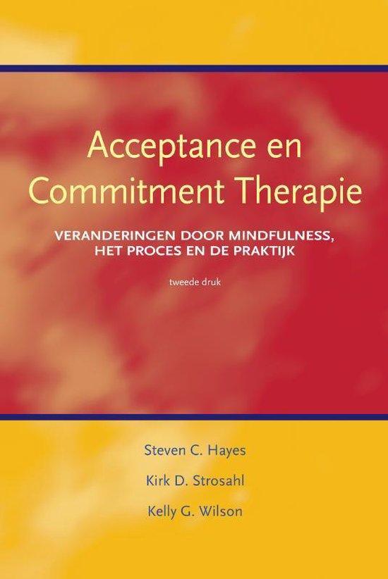 Boek cover Acceptance en commitment therapie van S. Hayes (Paperback)
