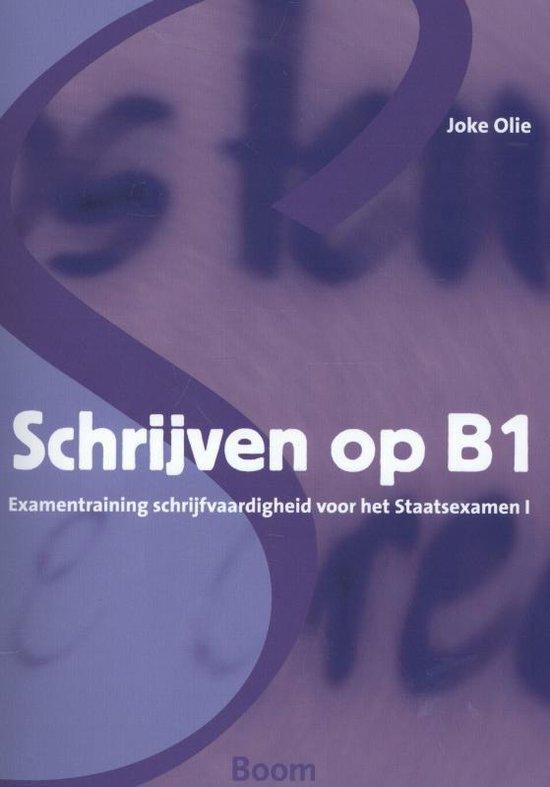 Schrijven op B1 - Joke Olie pdf epub