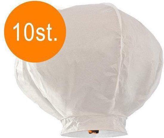 Wensballonnen wit 10st