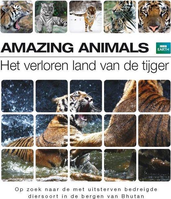 Cover van de film 'Amazing Animals - Het Verloren Land Van De Tijger'