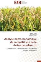 Analyse Micro�conomique de Comp�titivit� de la Cha�ne de Valeur Riz