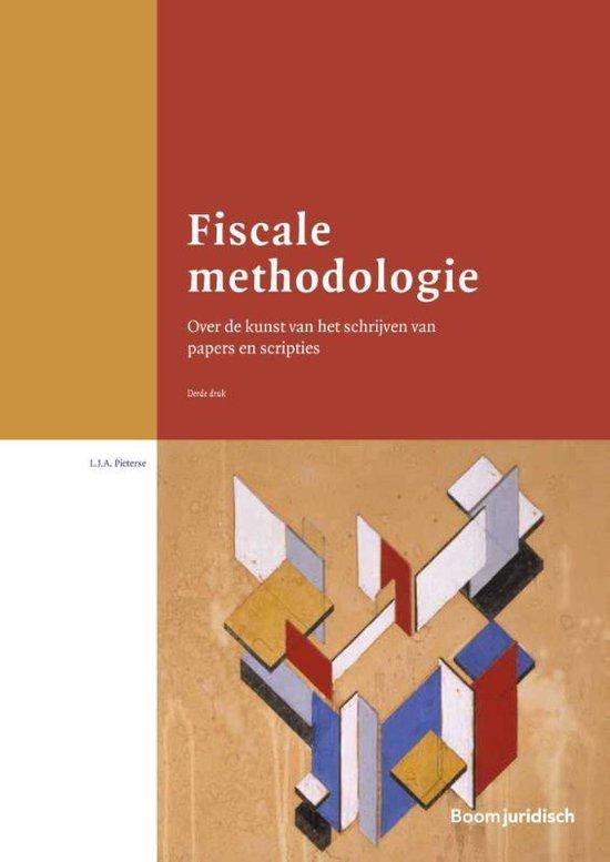Boom fiscale studieboeken - Fiscale methodologie - L.J.A. Pieterse  