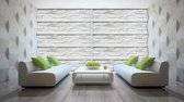 White | Gray Photomural, wallcovering