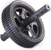 Matchu Sports - Ab Wheel - Buikspier roller - Ø 18.5cm - Zwart