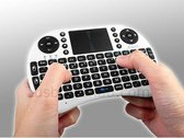 Mini  i8 draadloos toetsenbord + muis multimedia touchpad