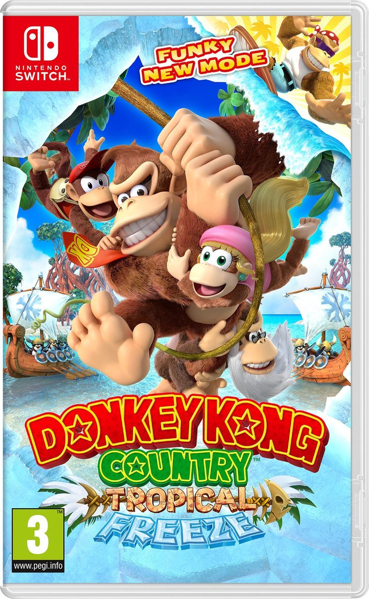 Donkey Kong Country: Tropical Freeze - Switch - Nintendo