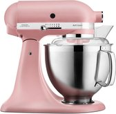 Kitchenaid Artisan keukenrobot 4.8L 5KSM185PS poederdoos roze