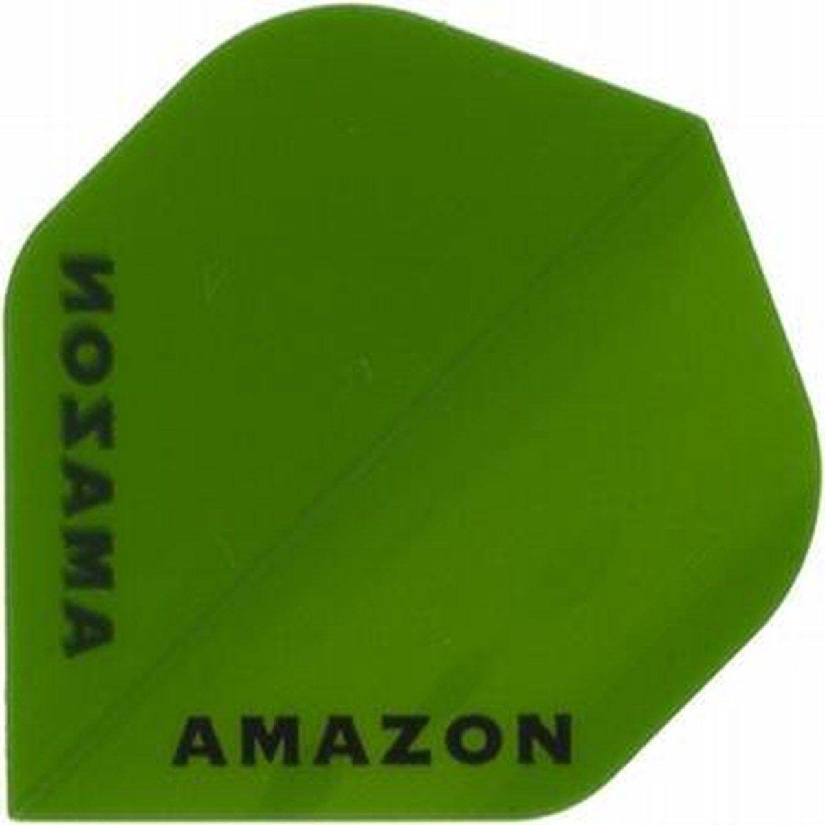5 sets (15 stuks) Ruthless flights Amazon Transparant Std Green
