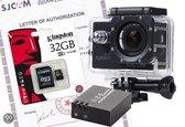 SJCAM SJ4000 WiFi - Zwart - inclusief extra accu en 32GB sd-kaart