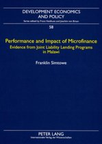 Performance and Impact of Microfinance